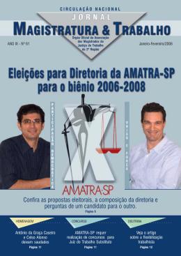 jornal amatra 61.pmd - Associação dos Magistrados da Justiça do