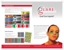 Qual Sua Jogada? - Glare International | Welcome