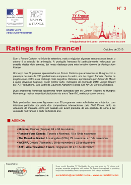 ratings from france!
