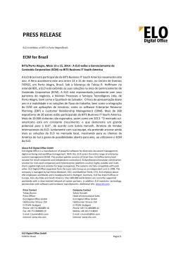 Read more. - ELO Digital Office GmbH