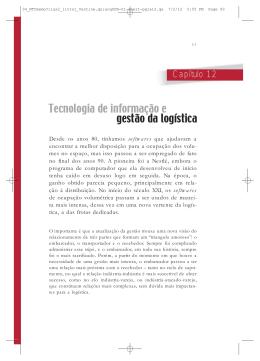 Tecnologia de informação e gestão da logística
