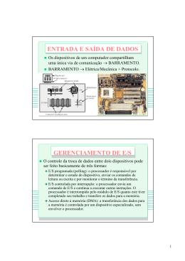 interrupção de hardware interrupção de hardware