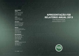 RIO DE JANEIRO - FSB Comunicação