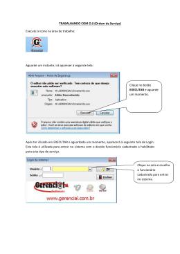 68. Manual Lancamento de O.S serviço 04/02/2015 ALAN