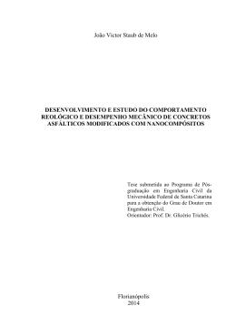 Tese - João Victor Staub de Melo - Universidade Federal de Santa