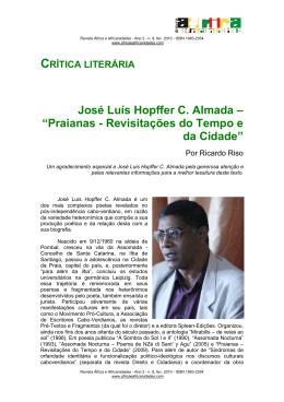 "José Luís Hopffer C. Almada – ""Praianas"