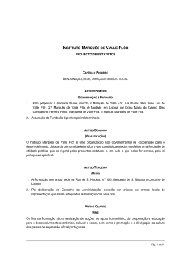 INSTITUTO MARQUÊS DE VALLE FLÔR