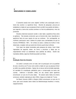 5 DISCUSSÃO E CONCLUSÃO - Maxwell - PUC-Rio