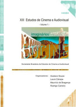 XIII Estudos de Cinema e Audiovisual - volume 1