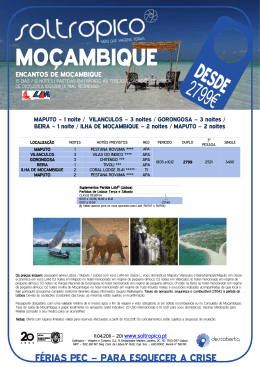 _201_ ENCANTOS DE MOÇAMBIQUE