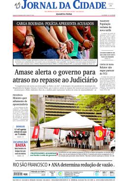 política/nacional - Jornal da Cidade