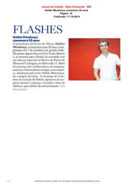 Jornal da Cidade - Belo Horizonte - MG