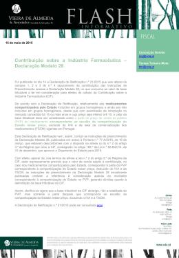 Contribuição sobre a Indústria Farmacêutica – Declaração
