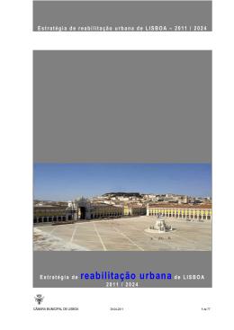 Estratégia de reabilitação urbana de LISBOA - Ai Mouraria