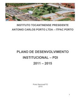 PDI - ITPAC Porto Nacional