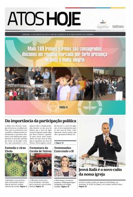 Jornal Atos Hoje Edição 33