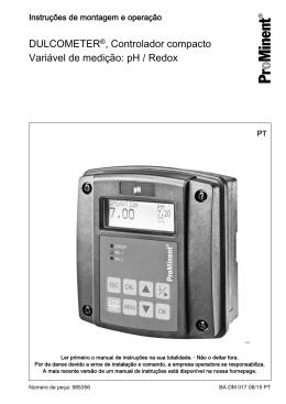 DULCOMETER®, Controlador compacto, Variável de
