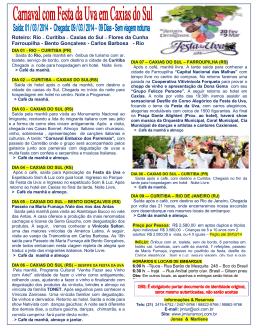 CARNAVAL COM FESTA DA UVA 2014 COLORIDO