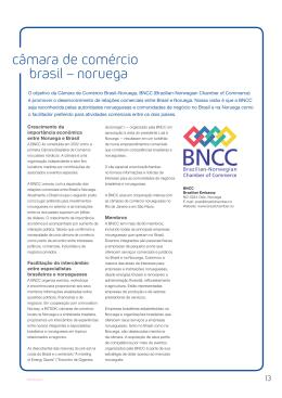 câmara de comércio brasil – noruega - Brazilian