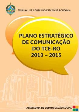 PLANO ESTRATÉGICO DE COMUNICAÇÃO TCE-RO A4