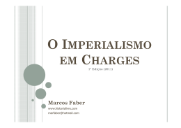 O Imperialismo em Charges
