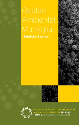 Gestão ambiental municipal - módulo básico (1ª edição