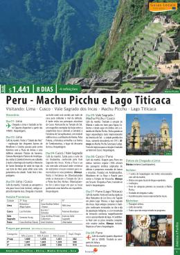 Peru - Machu Picchu e Lago Titicaca