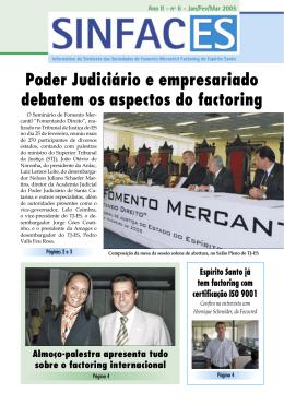 Poder Judiciário e empresariado debatem os aspectos do factoring