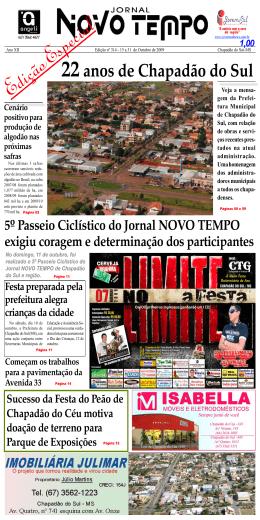 Jornal NOVO TEMPO edição nº 314