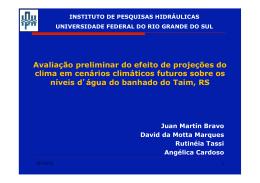 06 - Juan Martin Bravo - Avaliação Preliminar do Efeito de
