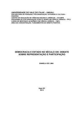 Monografia Direito Univali. 2010