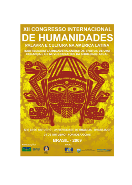 XII Congresso Internacional de Humanidades