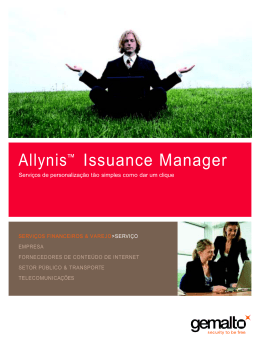 Allynis™ Issuance Manager [PDF - 351kb]
