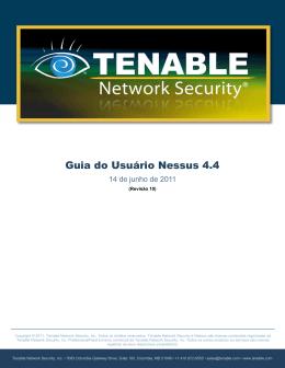 Guia do Usuário Nessus 4.4