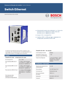 Switch Ethernet - Bosch Security Systems
