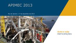 Apresentação APIMEC 2013