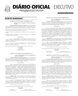 EXECUTIVO DIÁRIO OFICIAL - Egba
