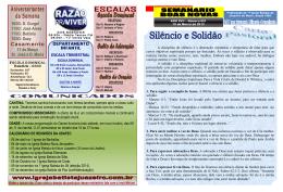 10/03: D. Gurgel 11/03: José Alves 11/03