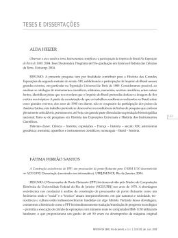TESE: A Construção sociotécnica do PPF