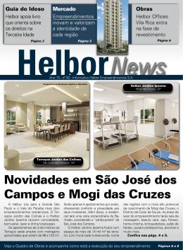 Novidades em São José dos Campos e Mogi das Cruzes