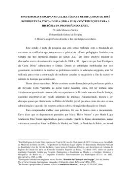 1908 a 1911 - Sociedade Brasileira de História da Educação