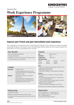 Flyer_Work experience_Paris.indd