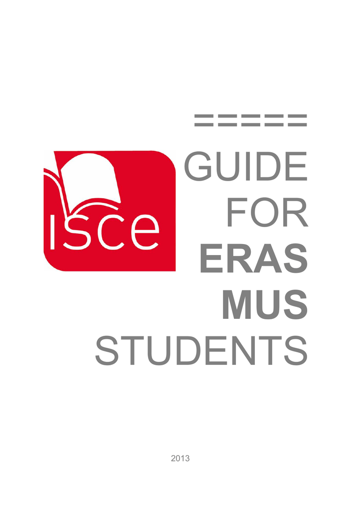 Guide for eras mus students instituto superior cincias educativas fandeluxe Images