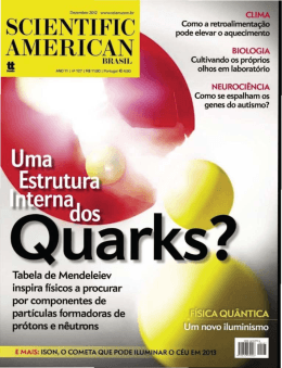 A Vida Interior dos Quarks @ Scientific American Brasil