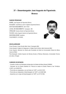 c8f05b1d450ed Desembargador José Augusto de Figueiredo Branco