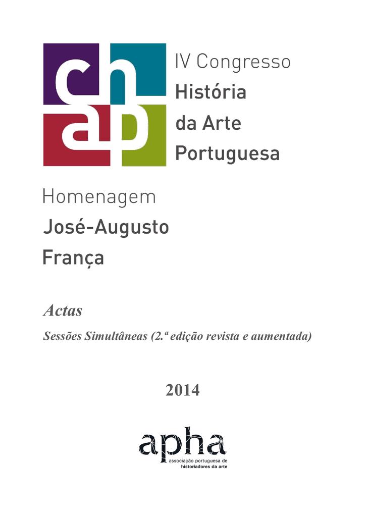 c0c9ac2c153 Actas do IV Congresso de História da Arte Portuguesa