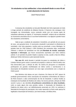 José Manuel Jara - Congresso Conquistas da Revolução