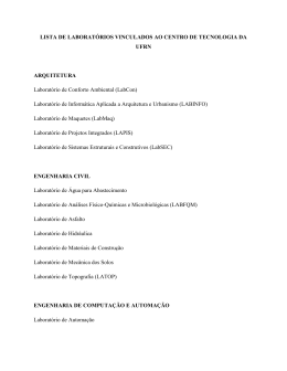 to see the list of laboratories by department