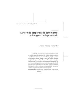 Artigo completo - Laboratório de Psicopatologia Fundamental