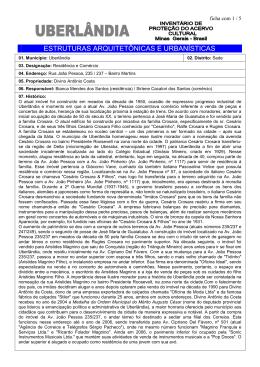 João Pessoa 235 - 237 - Prefeitura Municipal de Uberlândia